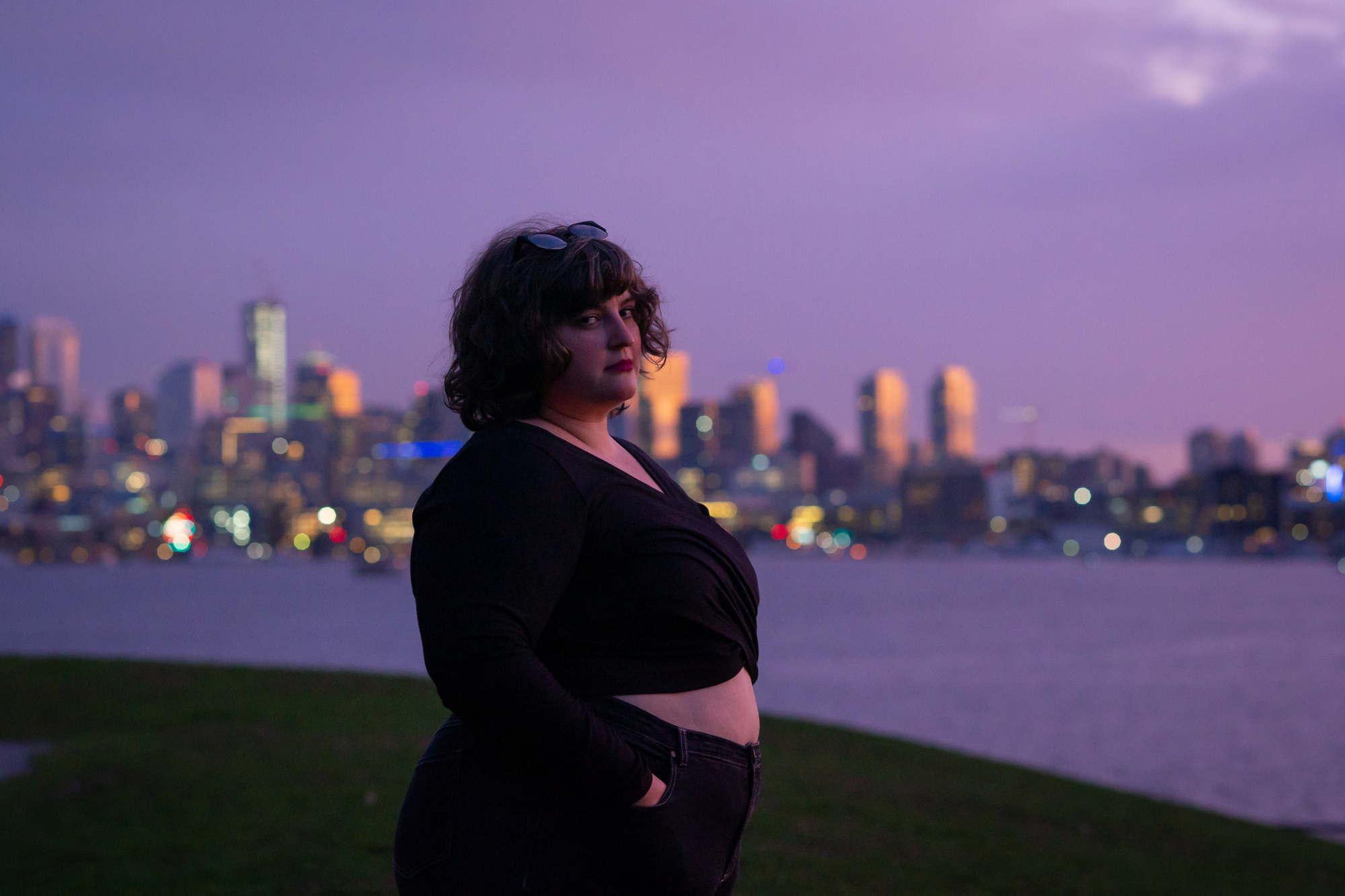 Portraits of J., Gasworks Park, Seattle