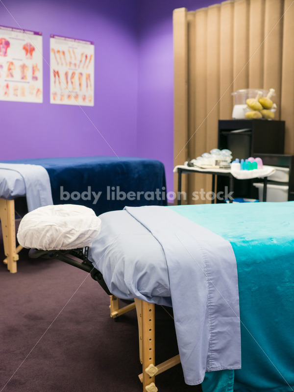 Diverse Massage Therapy Stock Photo: Massage Therapist's Office - Body Liberation Photos