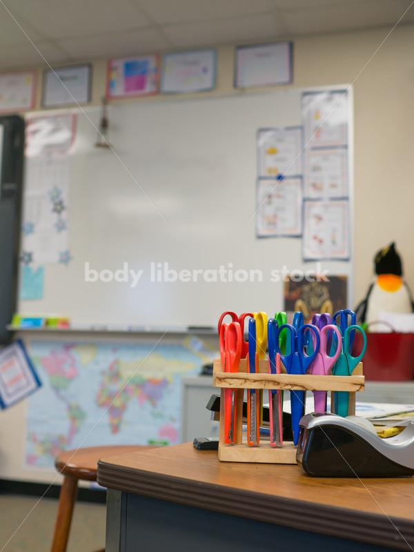 Education Stock Image: Classroom Details - Body Liberation Photos