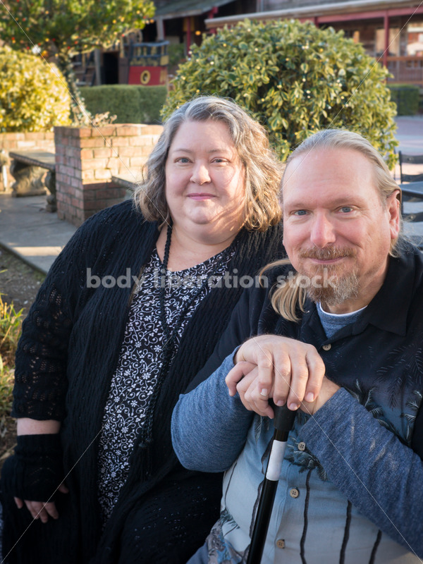 Retail Microstock Image: Older Couple on Shopping Trip - Body Liberation Photos