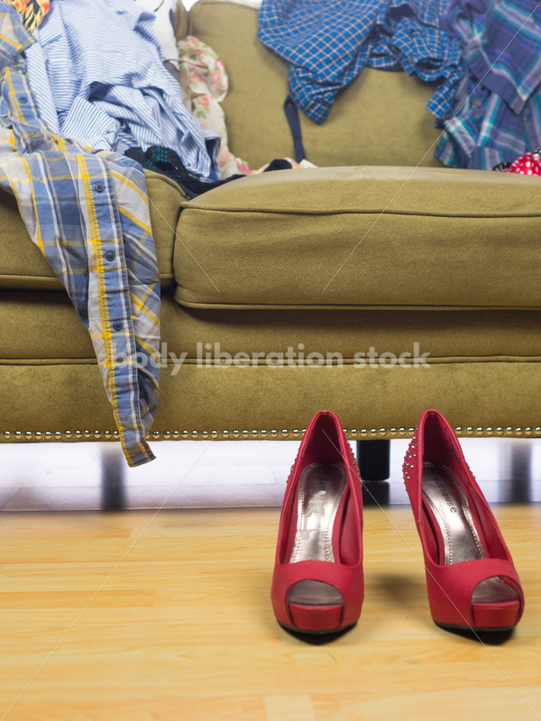 Retail Stock Photo: Clothing Consignment Store - Body Liberation Photos
