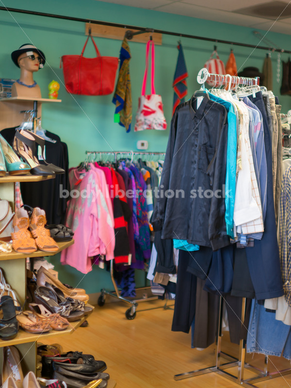Retail Stock Photo: Plus Size Clothing Consignment Store - Body Liberation Photos