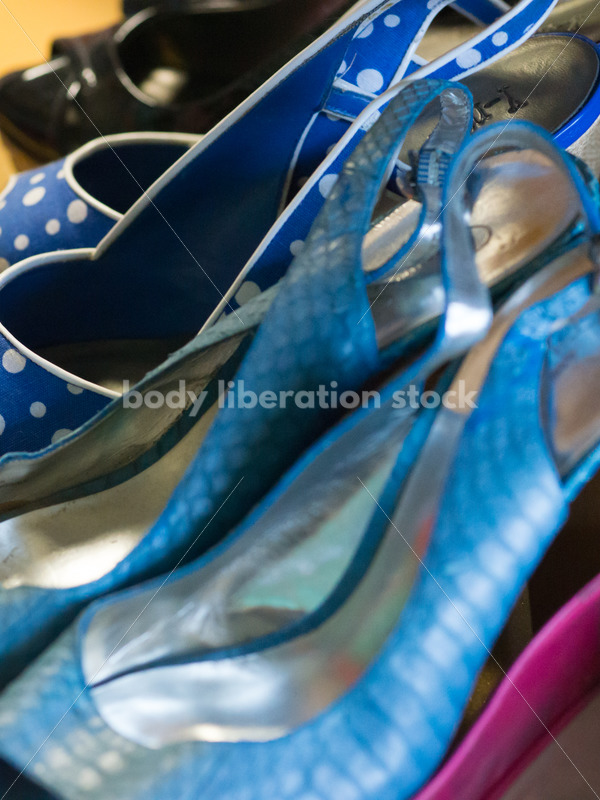 Retail Stock Photo: Plus Size Clothing Consignment Store Accessories - Body Liberation Photos