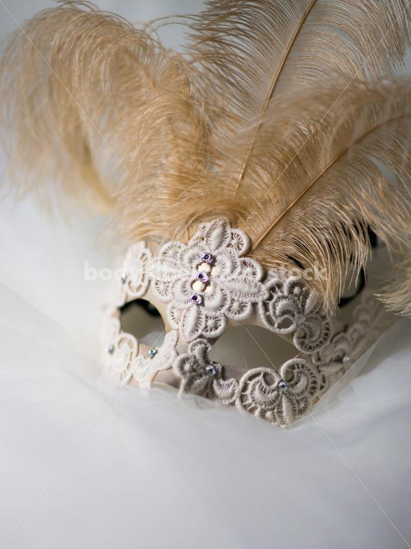 Romance Stock Image: Gold Venetian Mask - Body Liberation Photos