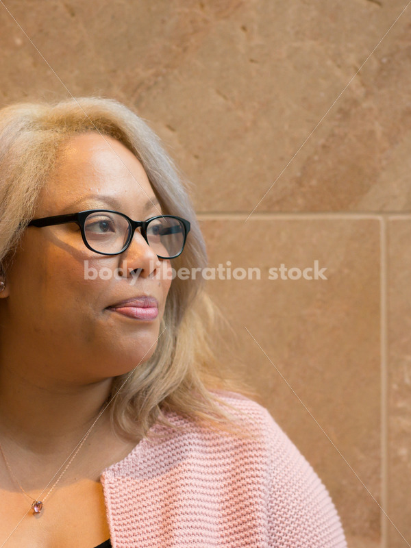 Royalty-Free Stock Image: Black LGBT Woman with Confident Expression - Body Liberation Photos