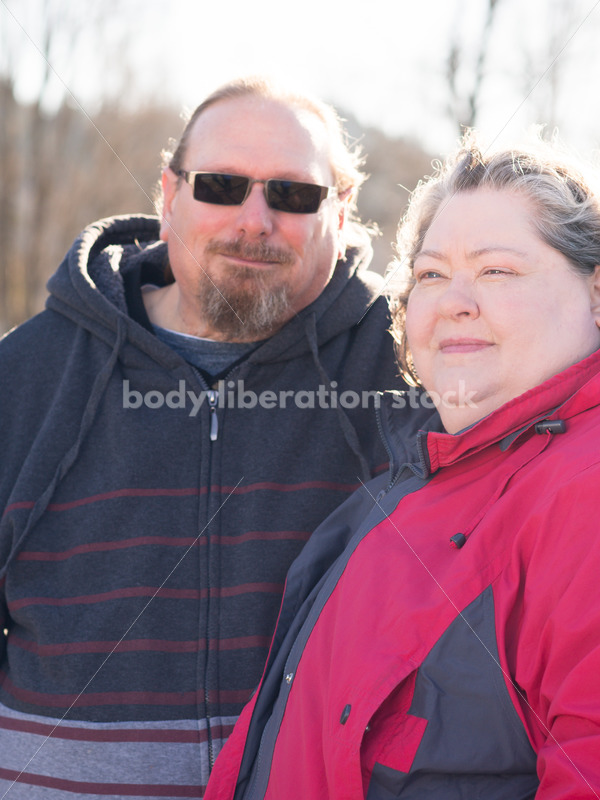 Royalty Free Stock Image: Joyful Movement with Partially Disabled Couple - Body Liberation Photos