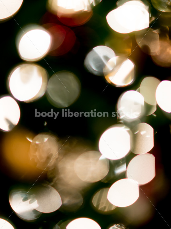 Stock Photo: Abstract Holiday Lights Bokeh Background - Body Liberation Photos