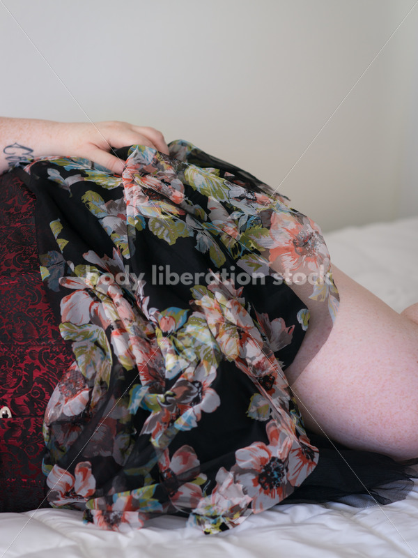 Stock Photo: Plus Size Woman with Invisible Disability - Body Liberation Photos