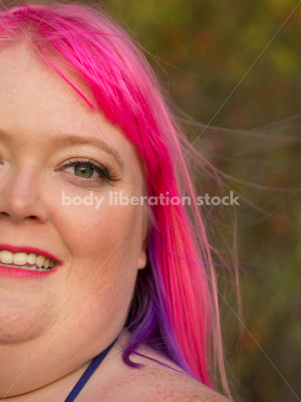 Stock Photo: Plus Size Woman with Positive Body Image - Body Liberation Photos