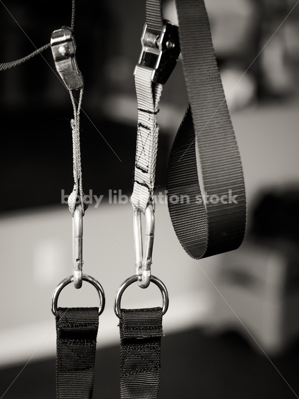 Stock Photo: Suspension Training System Used by Plus Size Fitness Trainer - Body Liberation Photos