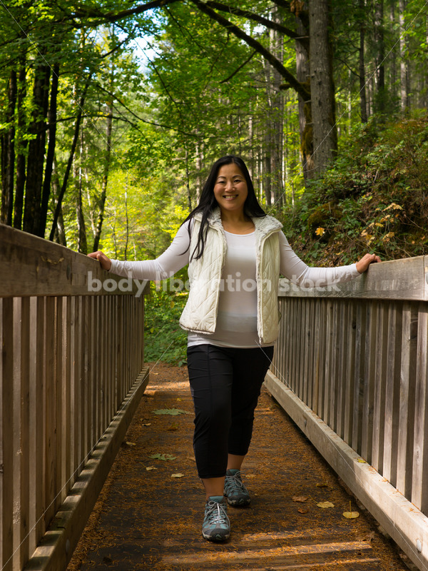 Chinese-American Woman Hiking - Body Liberation Photos