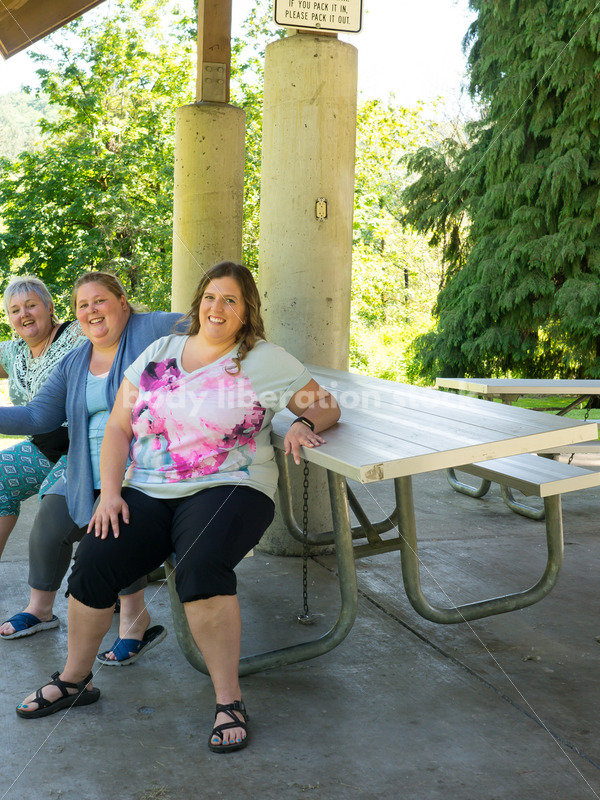 Eating Disorder Recovery Stock Photo: Women Having Fun While Supporting Each Other - Body Liberation Photos