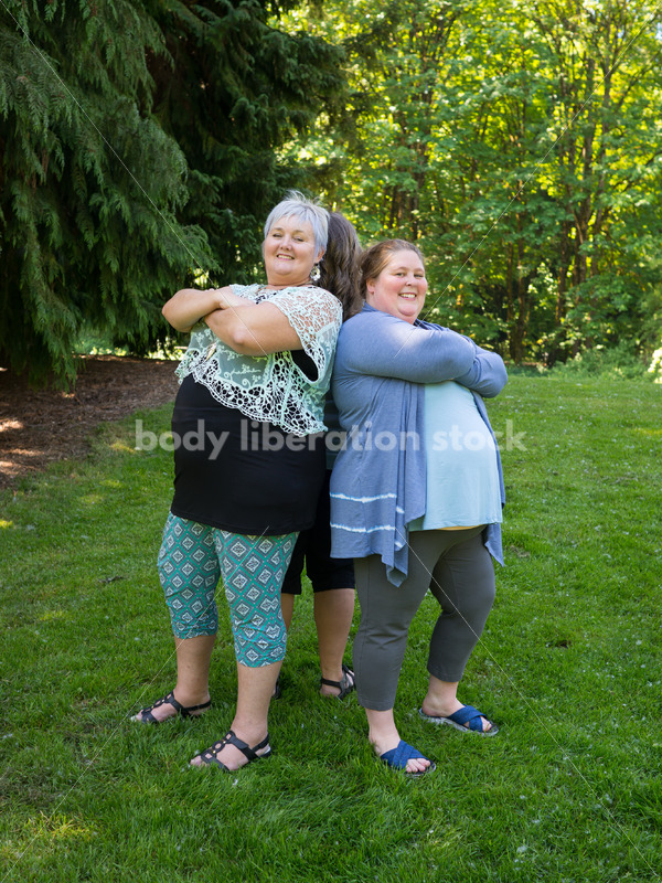 Eating Disorder Recovery Stock Photo: Women Supporting Each Other - Body Liberation Photos