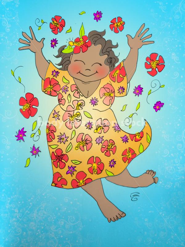 Flower Lady - Body Liberation Photos