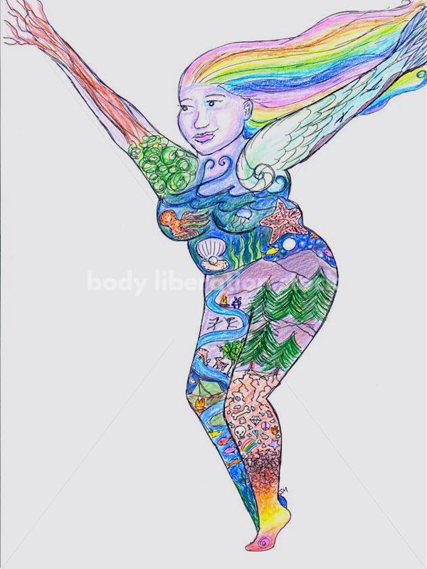 I Contain Multitudes - Body Liberation Photos