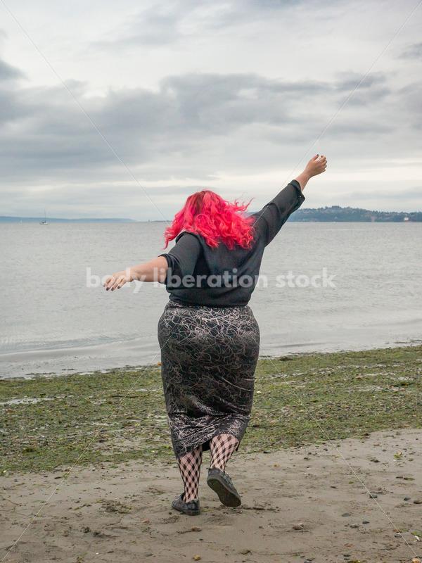 Joyful Movement Stock Image: Jumps and Twirls - Body Liberation Photos