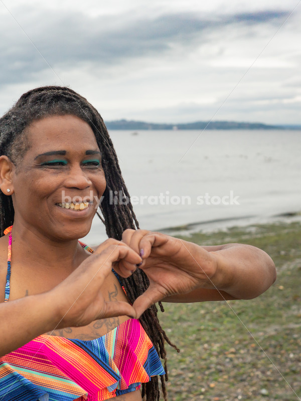 Love Stock Photo: Heart Hands - Body Liberation Photos