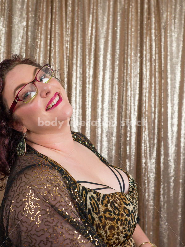 Party Fun with Plus Size Woman - Body Liberation Photos
