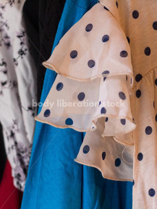 Plus Size Clothing Stock Image: Clothing Rack - Body Liberation Photos