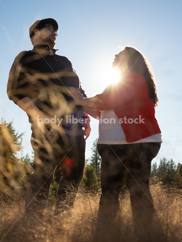 Stock Image: Humor and Connection - Body Liberation Photos