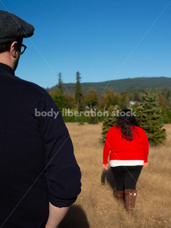 Stock Image: Woman Walking Away - Body Liberation Photos