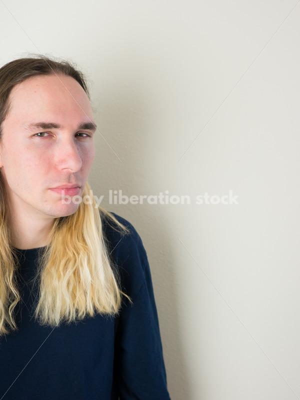 Transgender Stock Photo: Trans Woman Expressions - Body Liberation Photos