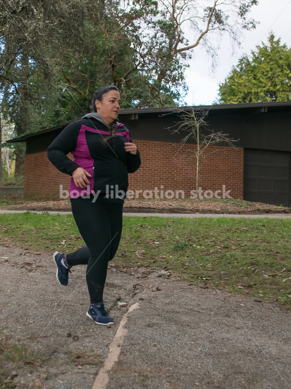Multi-ethnic woman running in a park - Body Liberation Photos