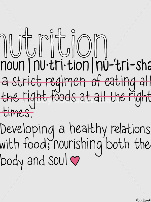 Non Diet Stock Image: Nutrition Definition - Body Liberation Photos