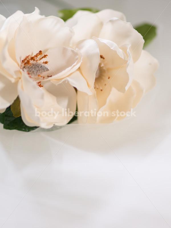Romance Stock Image: Magnolia Flower Crown - Body Liberation Photos