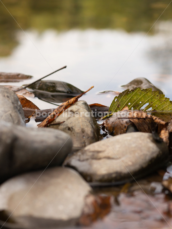 Stock Photo: Stones and River Water - Body Liberation Photos