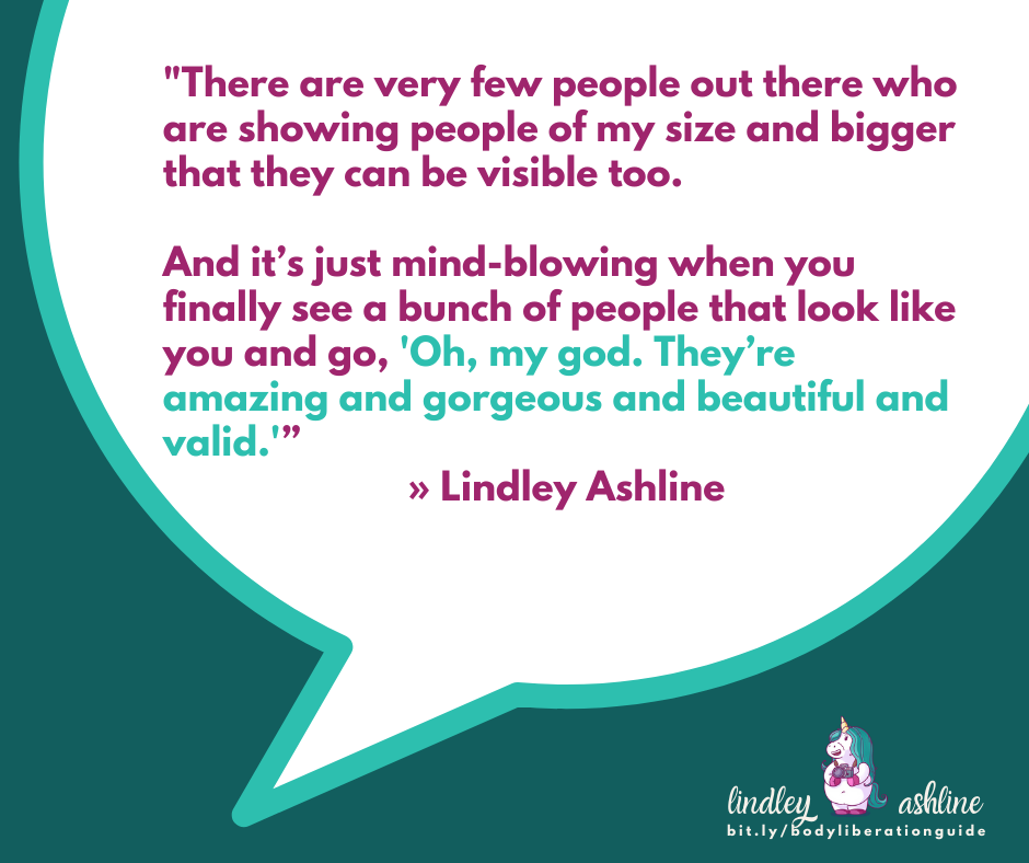 WATCH: Lindley on living unapologetically with Alissa Rumsey
