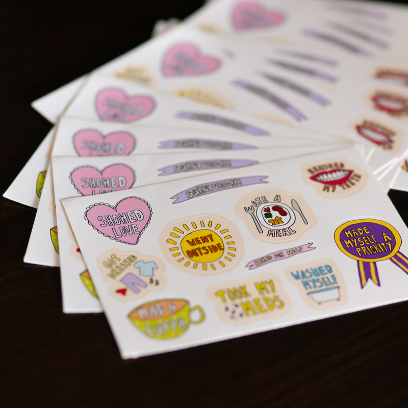 Stickers, Bookmarks & Stationery
