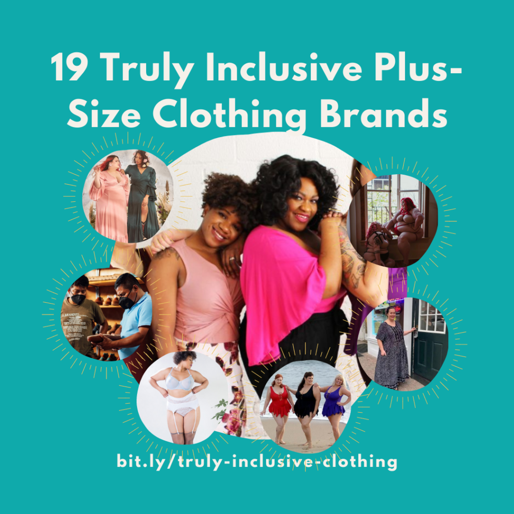 20 Truly Inclusive Plus-Size Clothing Brands