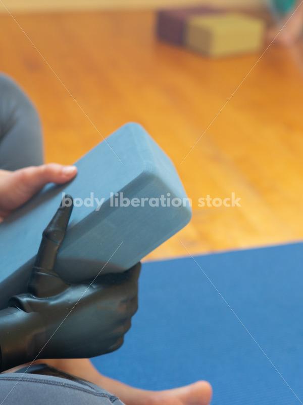 Diverse Yoga Stock Photo: Inclusive Yoga Class - Body Liberation Photos