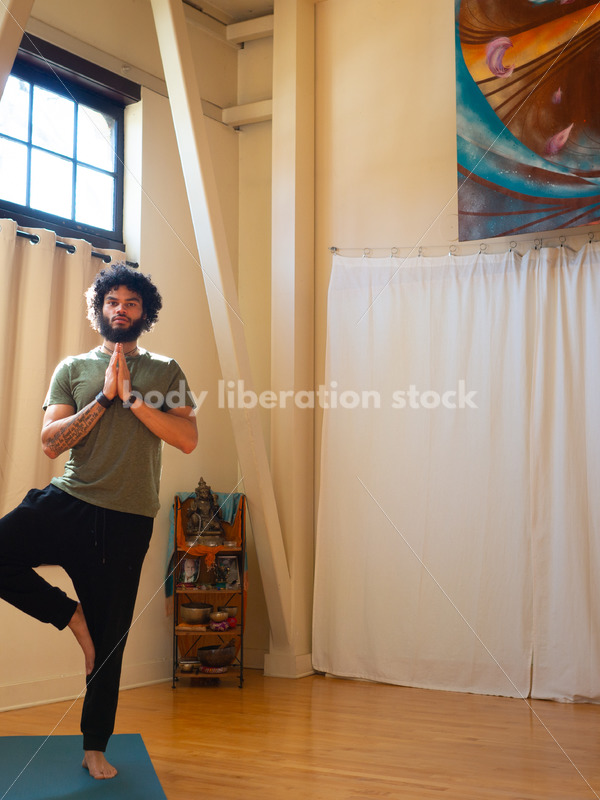 Diverse Yoga Stock Photo: Tree Pose - Body Liberation Photos