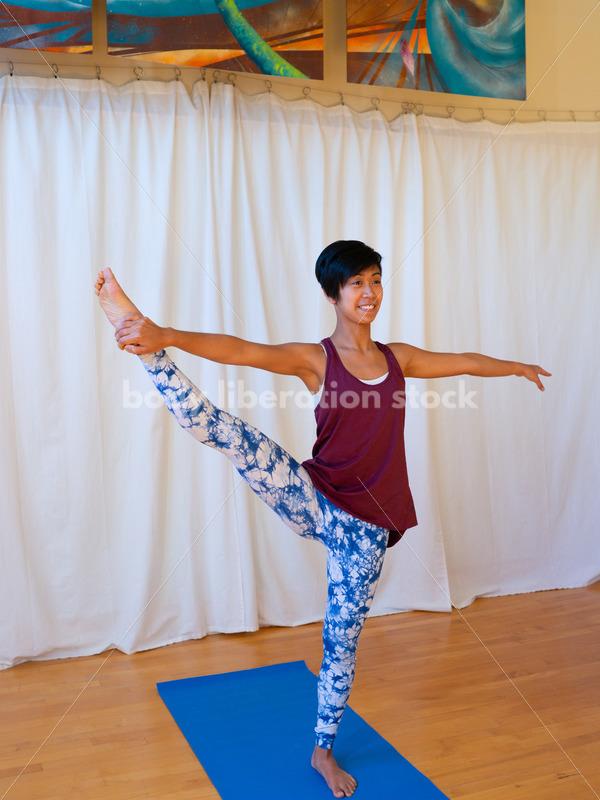 Diverse Yoga Stock Photo: Woman of Color - Body Liberation Photos
