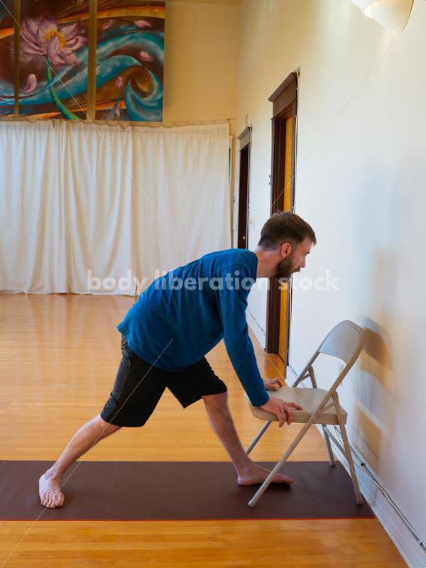 Diverse Yoga Stock Photo: Yoga with Disabilities - Body Liberation Photos