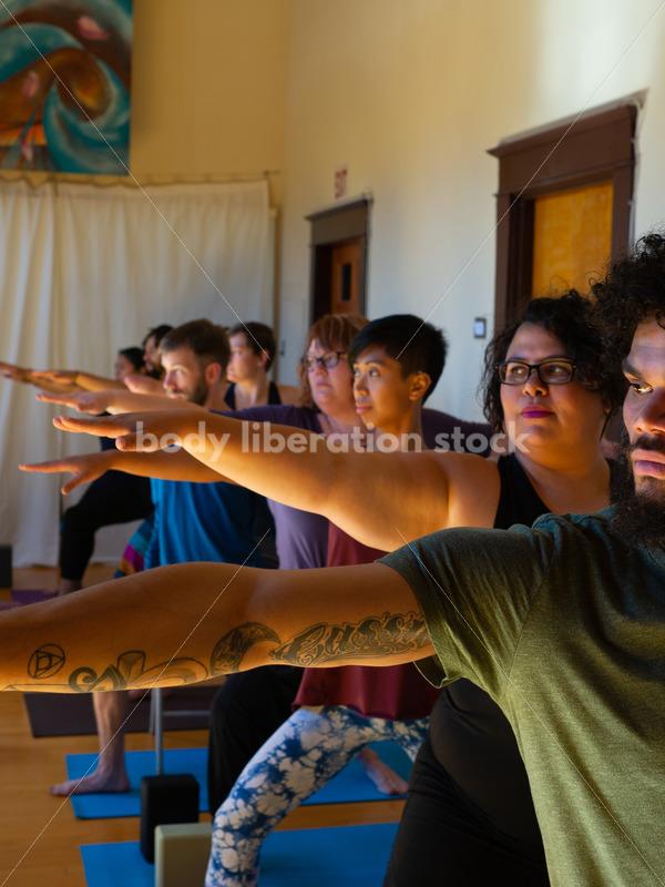 Yoga Stock Photo: Warrior Pose - Body Liberation Photos